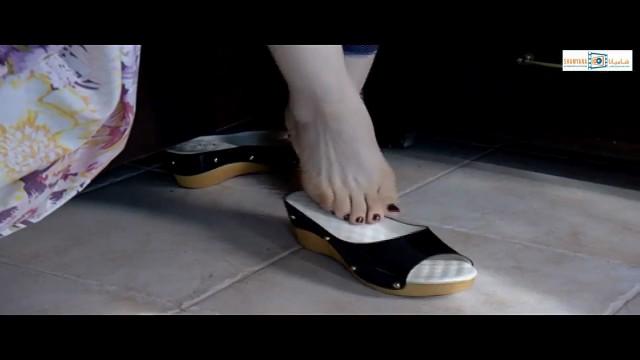 أقدام عبير شمس الدين لقطة رهيبة جنان نسوان 10