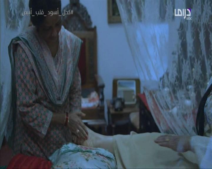 مساج اقدام نور الكويتيه ومشهد لهبه الدري وشهد - كحل اسود - 17